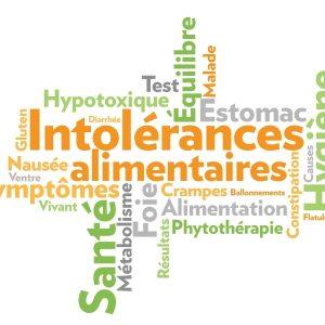 Tests d'intolérances alimentaires